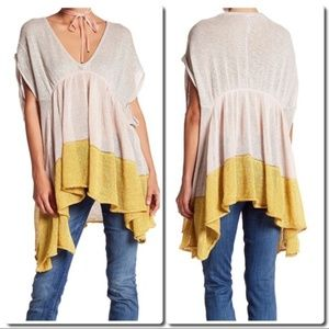 Free People Storm Clouds Tunic Size Small